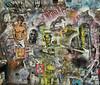 Graffiti on wall in Spitalfields (ian_fromblighty) Tags: uk england london wall graffiti churchill winstonchurchill spitalfields chuppachups ronniebiggs