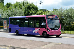 Uno 55 MX12CFP (Howard_Pulling) Tags: uk bus buses nikon may hatfield hertfordshire 2014 howardpulling d5100