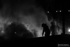 (. . .) Tags: chile santa del de fire mar calle riot sitting via maria corte bn v universidad region jmc barricada
