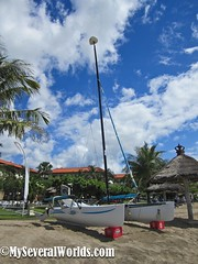 Catamaran Sailing at The Grand Mirage (Carrie Kellenberger I globetrotterI) Tags: ocean summer vacation bali beach indonesia asia sailing catamaran beaches hotels resorts nusadua allinclusive thegrandmirage