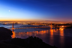 San Francisco Sunrise - 9 (www.bazpics.com) Tags: sanfrancisco california morning bridge usa sun color colour night america sunrise golden gate san francisco day ray glow break unitedstates state hawk hill saturday hills goldengatebridge april sausalito 26th sausolito 2014 barryoneilphotography