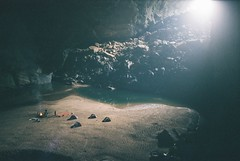 (grousespouse) Tags: cave 35mm canon sureshot autoboy adventure camping jungle fujicolor canonaf35mii af35m fujicolorsuperia200 hangencave travel cutoffplaces vietnam phongnhakebangnationalpark autoboyii autoboy2