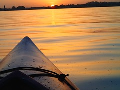 Kayak. (maryamhelmy) Tags: trees sunset summer sun lake hot water june boat couple kayak dream relaxing lindau bregenz land bodensee paddling magical lakeofconstance dreilndereck summerfeelings towardssunset whatialwayswanted