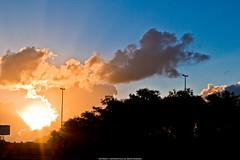 Sunset (Jeferson Felix D.) Tags: sunset pordosol sky sun sol clouds canon eos do ceu por 18135mm 60d canoneos60d