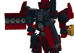 Harbinger WIP 11 (TF Twitch) Tags: mobile digital lego designer space suit gundam nineball armored core mecha mech ldd