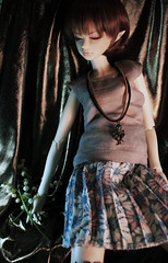 Maud (bentwhisker) Tags: aqua doll bjd resin 3942 dikadoll rrabit