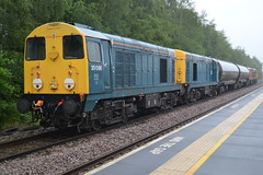 Class 20s 20096 20107 20314 & 20901 - Chesterfield (dwb transport photos) Tags: chopper diesel railway locomotive chesterfield 20096 20107 20314 20901