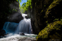 Momijidani fall (kyotzi) Tags: fall nature water canon eos slow shutter 24105 5dmark3