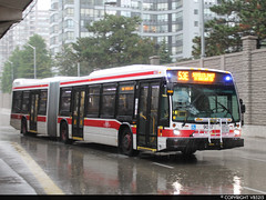 Toronto Transit Commission #9057 (vb5215's Transportation Gallery) Tags: toronto bus nova ttc transit commission artic lfs 2014