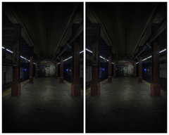 Bowery 1 (-ytf-) Tags: nyc newyorkcity subway 3d manhattan lowereastside stereo bowery mta crossview ytf ytfnyc