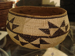 "NORTHWEST COAST INDIAN BASKET. • <a style=""font-size:0.8em;"" href=""http://www.flickr.com/photos/51721355@N02/14327345733/"" target=""_blank"">View on Flickr</a>"