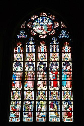 5 - Gant = Gent Eglise Saint-Jacques = Sint-Jacobskerk Vitrail