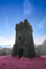 Wizardry (ixtussy) Tags: sunset malakoff tower ir tour toren infrared lembeek ixtussy