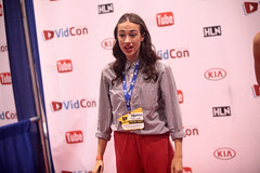 Miranda Sings (Gage Skidmore) Tags: california colleen center convention anaheim miranda sings ballinger 2014 youtube vidcon mirandasings