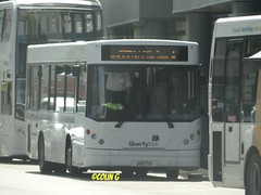 Libertybus 213 (Coco of Jersey) Tags: uk bus liberty islands coach nimbus ct jersey plus dennis dart channel caetano