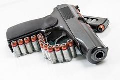 Makarov 9mm (classic.visions) Tags: gun pistol handgun bullets muzzle 9mm makarov
