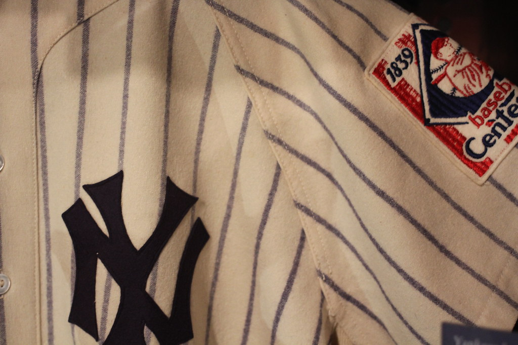 Lou Gehrig's Jersey from July 4, 1939 by dangaken, on Flickr