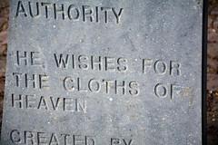 The Cloths of Heaven (JohntheFinn) Tags: ireland sculpture cemetery grave statue memorial europe poetry tomb poet runo patsas hautausmaa drumcliff veistos hauta eurooppa muistomerkki hautakivi irlanti runoilija hautasmaa