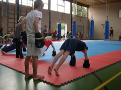 """zomerspelen 2013 karate clinic • <a style=""""font-size:0.8em;"""" href=""""http://www.flickr.com/photos/125345099@N08/14405908662/"""" target=""""_blank"""">View on Flickr</a>"""