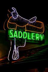 Ride Me (Thomas Hawk) Tags: california usa santabarbara neon unitedstates unitedstatesofamerica santabarbaracounty fav10 saddlery