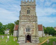 The Church of St Mary, St Cuthberga and All Saints, Witchampton, Dorset (JackPeasePhotography) Tags: tower church beautiful architecture countryside pretty allen estate roman gothic churches belltower norman dorset witchampton crichel