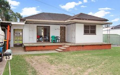 83 Dennistoun Avenue, Guildford NSW
