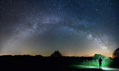 The Sky is Ours (JbGinioux) Tags: longexposure light wild sky panorama france nature night photography photo nikon flickr view nightscape walk lumire tripod picture panoramic tokina explore ciel galaxy astrophotography astronomy universe paysage nuit etoile auvergne dreamscape milkyway cantal longexposition voielacte d7000 tokina1116mmf28 atx116prodx nikond7000