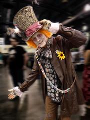 We all go a little mad sometimes... (Random420) Tags: world philadelphia cosplay wizard philly comiccon madhatter aliceinwonderland 2014 wizardworld wizardworldphilly philadelphiacomiccon