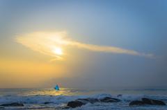 The Golden Compass (Mali) Tags: morning sky cloud seascape beach skyline clouds sunrise golden boat fishing nikon fishermen walk madras directions boating chennai seashore compass goldenhour roi beachside kovalam cwc 358 yatcht covelong d7000 rootsofindia lingeswaran chennaiweekendclickers malishots cwc358
