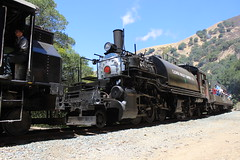 Clover Valley Lumber Co. #4 (Baldwin 2-6-6-2T Mallet) in Niles Canyon, CA (CaliforniaRailfan101 Photography) Tags: 4thofjuly mallet independenceday baldwin alco nilescanyonrailway nilescanyon 262t ncry sunolca 2662t quincyrailroadco2 clovervalleylumberco4 nilescanyonrailway4thofjulysteamspecial