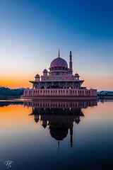 Glow of Mist | sunrise | Putra Mosque | Putrajaya