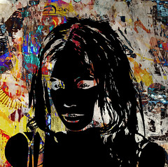 LooK - 144-01 (PASLIER MORGAN) Tags: street blue red urban stilllife color art texture textura colors fashion collage wall paper poster rouge death skull libertad graffiti rojo poste heart crane couleurs mort tag young free style graph coeur x colores bleu muertos splash deco rue mode libre couleur corazon affiche calavera spay artpovera dchirure claboussure