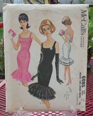 McCall 6085 (neshachan) Tags: fashion vintage dress ephemera 1960s gown sewingpattern mccalls vintagepattern fashionhistory solointhespotlight