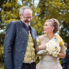 Conny & Eva Wedding (M.Boubou) Tags: park wedding happy eva day sweden great marriage husband sunny wife conny malm
