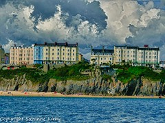 Tenby Hotels_HDR (S L Photography) Tags: wales coastline pembrokeshire tenby