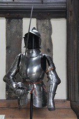 Armour at Rufford Old Hall - NT - Lancashire (2) (Richard Collier - Wildlife and Travel Photography) Tags: history nationaltrust armour