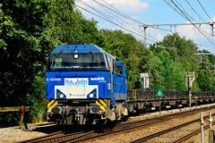 En weg is hij. (Ervanofoto) Tags: train nikon zug trains d200 trein treinen olen g2000 dieselloc vossloh rurtalbahn diesellokomotief ervanofoto kopertrein