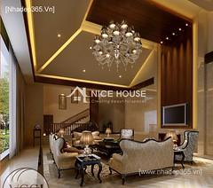 Thiết kế nội thất phòng khách tân cổ điển_007