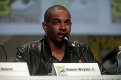 Damon Wayans, Jr. (Gage Skidmore) Tags: california michael san key comic cops lets diego center rob convention be keegan nina damon con 2014 wayans riggle dobrev