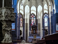Rezo / Prayers (López Pablo) Tags: church cathedral sancristobaldelalaguna tenerife spain canaryislands building architcture