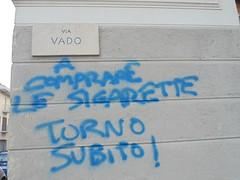 spiritosaggini :) (en-ri) Tags: blu torino wall muro graffiti writing sigarette