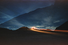 the run around (film) (Art by 2wenty) Tags: 2wenty leica cl elmarit 24mm 28 asph night midnight film analog analogue landscape mood moody