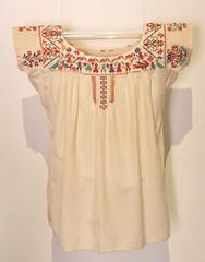 Zapotec Blouse Oaxaca Mexico Coatlan (Teyacapan) Tags: blouses blusa zapoteca oaxacan mexican embroidered textiles ropa sanvicentecoatlan museum