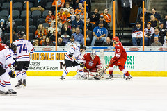 "Missouri Mavericks vs. Allen Americans, March 3, 2017, Silverstein Eye Centers Arena, Independence, Missouri.  Photo: John Howe / Howe Creative Photography • <a style=""font-size:0.8em;"" href=""http://www.flickr.com/photos/134016632@N02/33117920382/"" target=""_blank"">View on Flickr</a>"