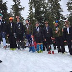 Whistler Spring Series 2017 - Most Improved medal winners from the series