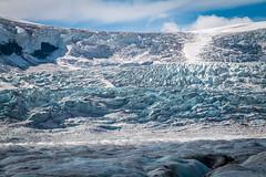 Le champ de glace du glacier Athabasca (Seb & Jen) Tags: rocheuses rockies alberta canada athabasca glacier icefield columbia