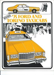 1975 Ford and Torino Taxicabs (biglinc71) Tags: 1975 ford torino taxicabs