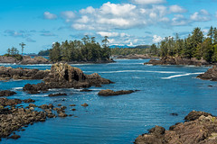 Ucluelet Seascape (RussellK2013) Tags: nikon nikkor d750 sea seascape ocean water scene scenery scenicsnotjustlandscapes scape scenic ucluelet britishcolumbia canada vancouverisland wildpacifictrail lighthouseloop sightseeing travel ngc postcard 70200mmf28vrii 70200mm 70200mmf28gedvrii