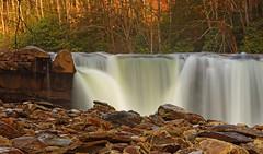 High Falls: Cobbles (Shahid Durrani) Tags: high falls monongahela national forest cheat river west virginia