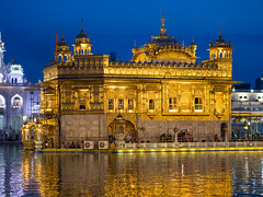 Golden (Keith - Glasgow) Tags: amritsar punjab sunset travel india nightphotography landscapes sikhism goldentemple lowlight night religioussites in